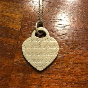 "Tiffany & Co ""Dream A Little Dream"" Necklace"